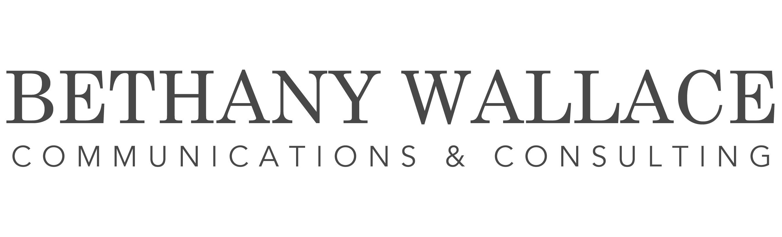 Bethany Wallace Communications & Consulting
